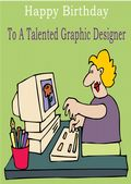 Graphic Designer - Greeting Card